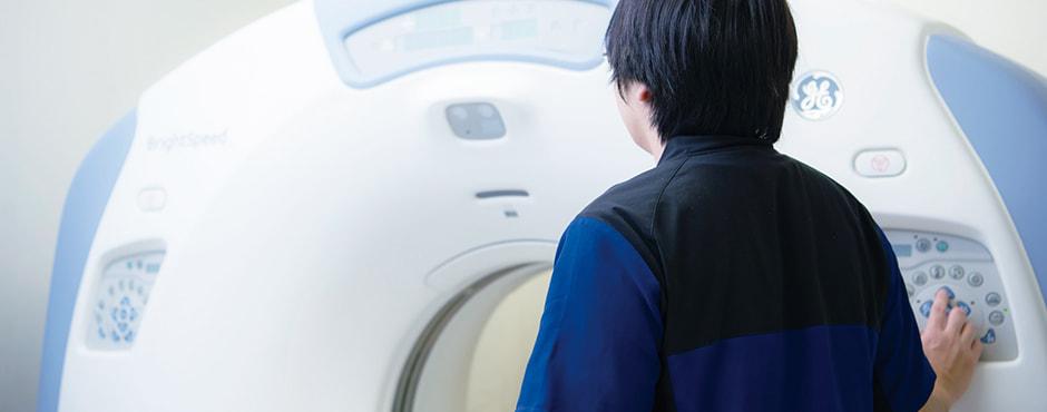診療放射線課の内観写真