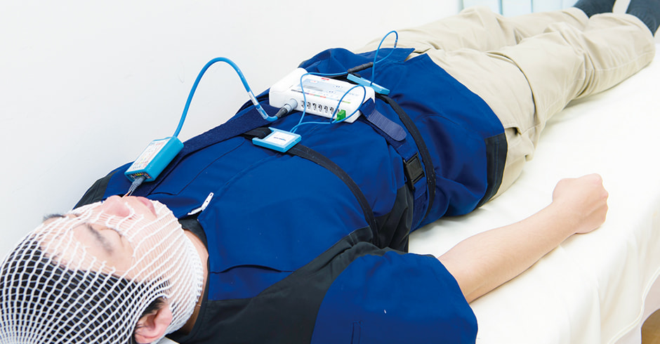 簡易型睡眠時無呼吸検査 睡眠時無呼吸精密検査(PSG)