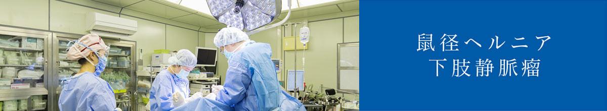 鼠径ヘルニア 下肢静脈瘤