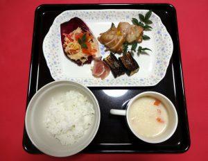 2日 夕 常食