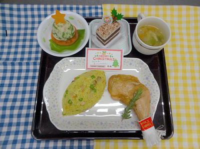 12月24日 夕食の写真