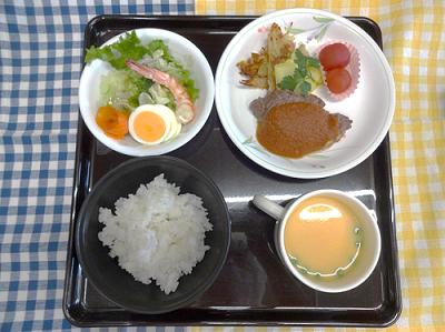 12月24日 昼食の写真
